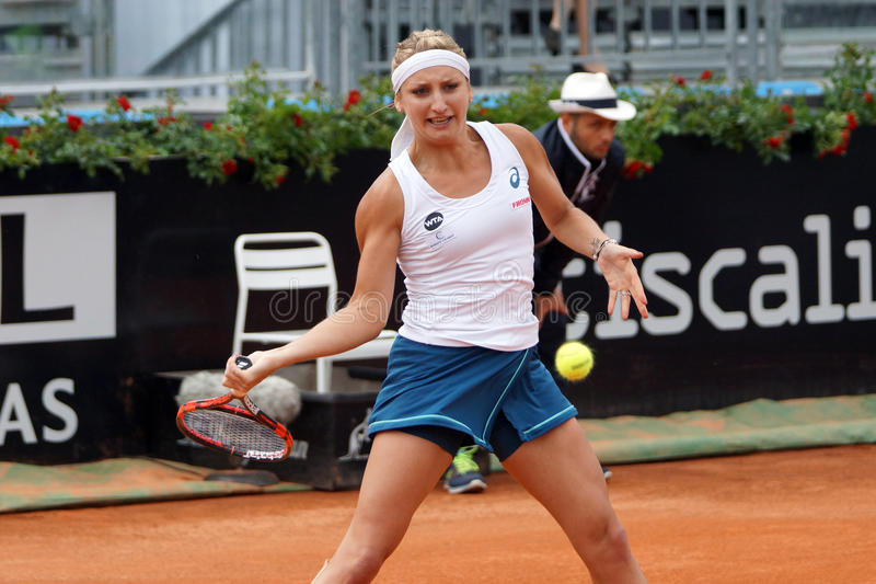 Timea Bacsinszky (SUI) royalty free stock image