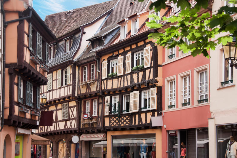 Download Timebered-houses In Colmar, France Stock Photo - Image: 25964930