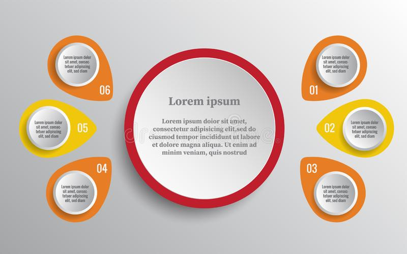 Timeline infographics design vector and marketing icons stock illustration