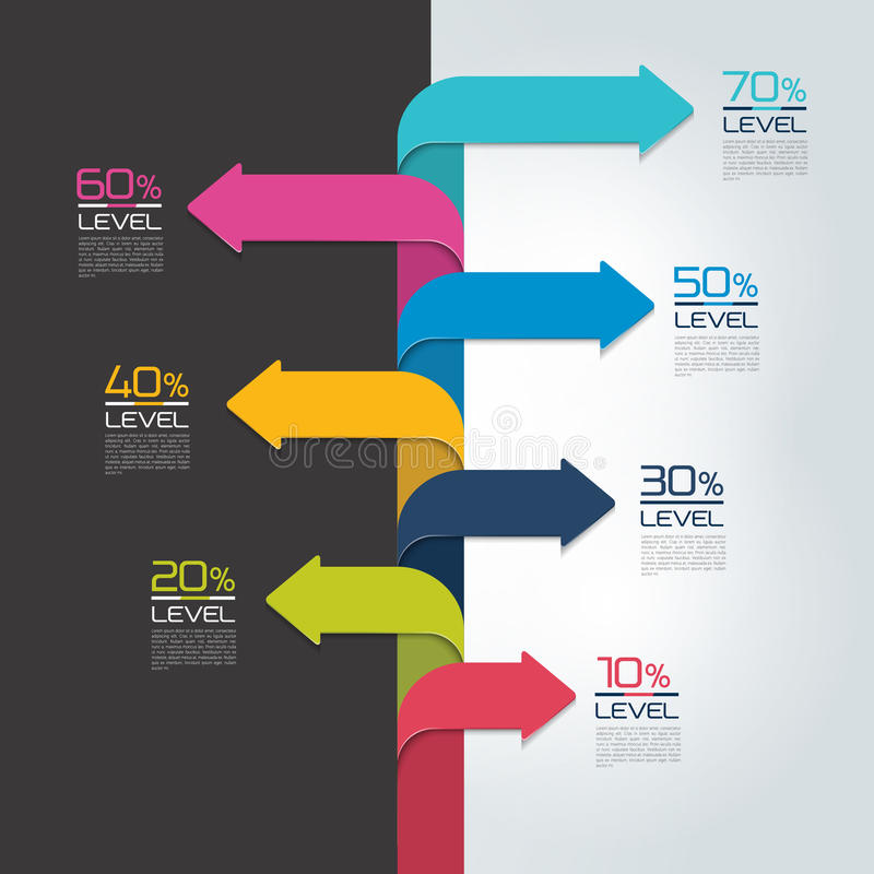 Timeline vertical report, template, chart, scheme, step by step infographic. Vector vector illustration
