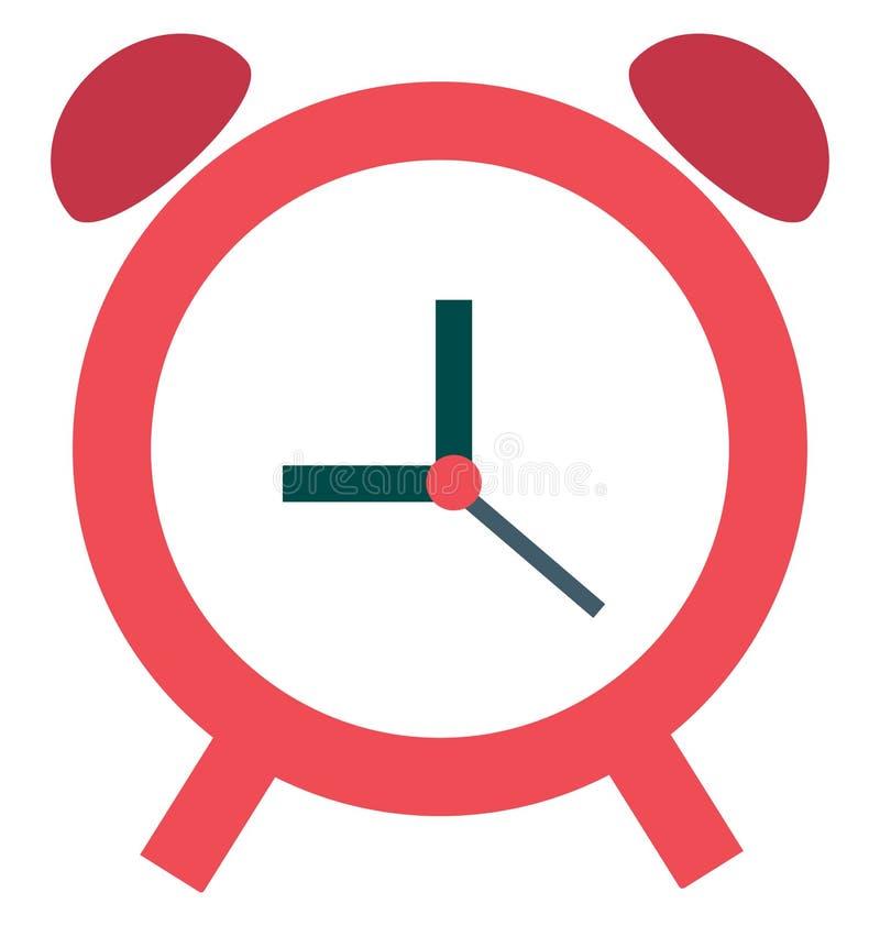 Timepiece Odizolowywająca koloru wektoru ikona zdjęcie royalty free