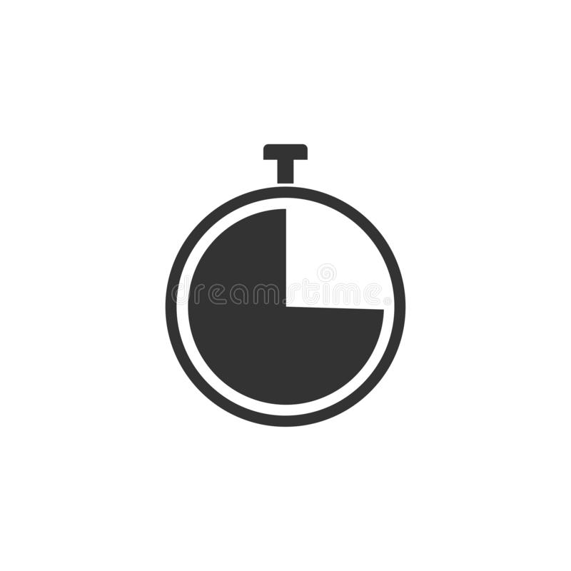 Timer, clock, time, icon. Vector illustration, flat design. Timer, clock, time icon Vector illustration flat vector illustration