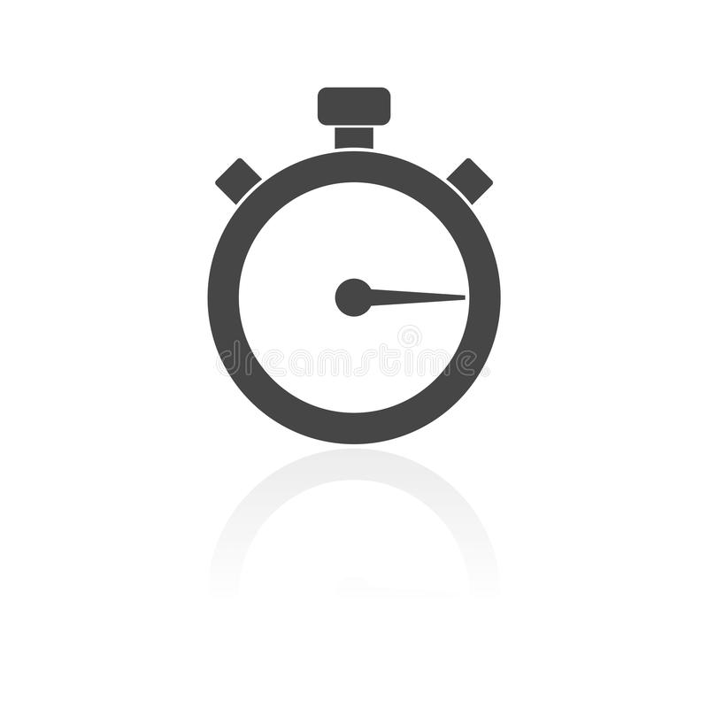Timer icon. Simple vector icon royalty free illustration