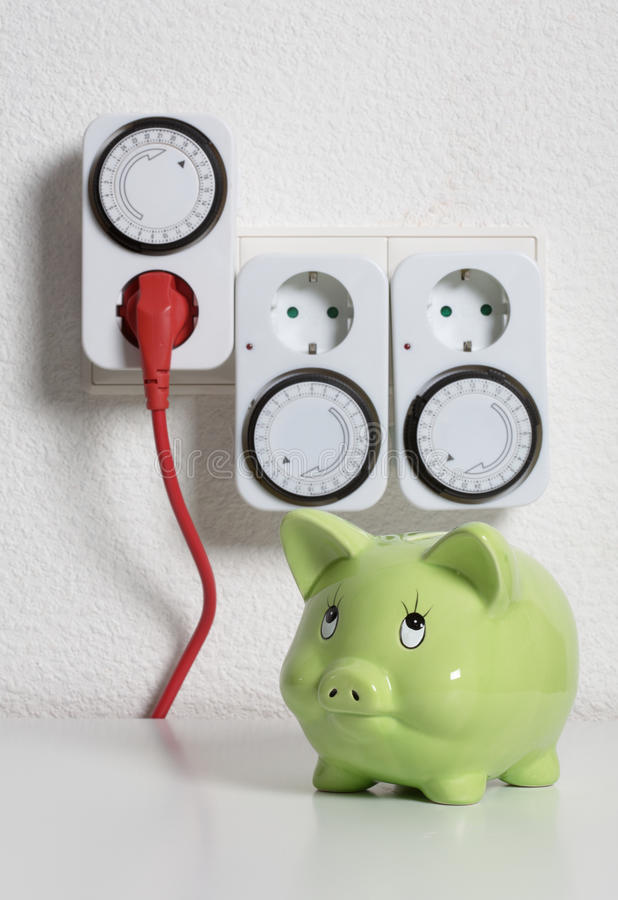 Download Timer Switch stock image. Image of electricity, bank - 20577649