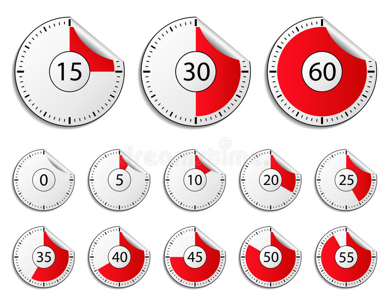 Download Timers stock vector. Illustration of element, paper, countdown - 21908899