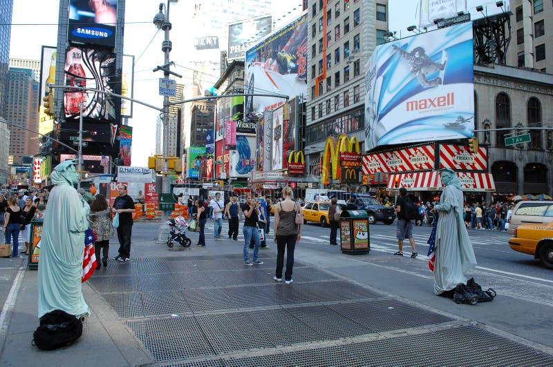 Times Square Νέα Υόρκη στοκ φωτογραφία