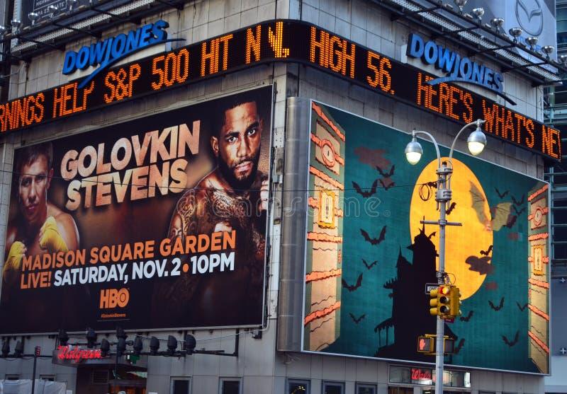 Times Square fotografía de archivo