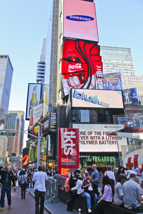 Download Times Square editorial stock photo. Image of york, 2010 - 18711738