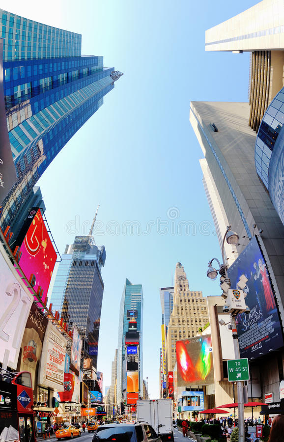 Times Square stock photos