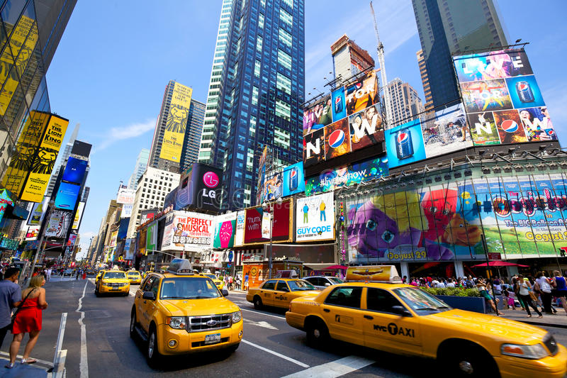 Download Times Square editorial photography. Image of busy, downtown - 25797287