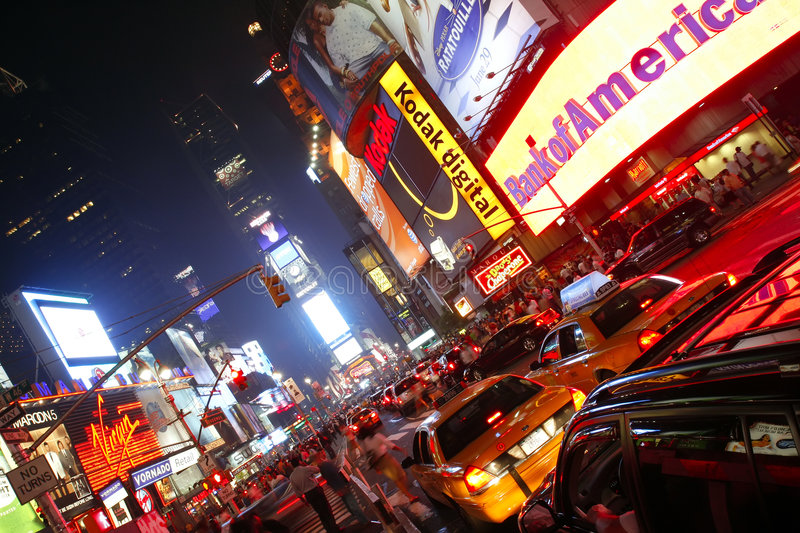 Download Times Square editorial photo. Image of metropolis, lights - 4248146