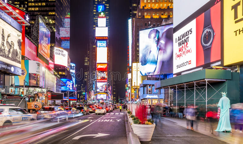 Times Square imagens de stock royalty free