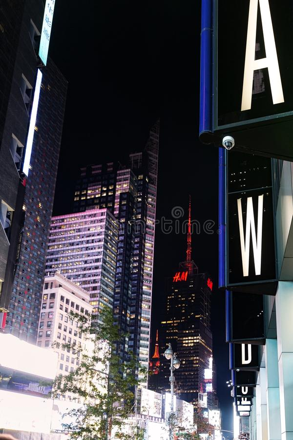 Times Square images stock