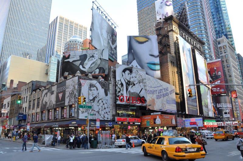 Times Square, Broadway, New York City imagen de archivo