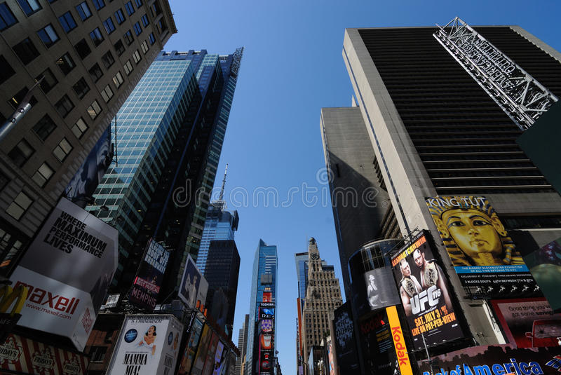 Download Times Square Buildings editorial image. Image of manhattan - 14851165
