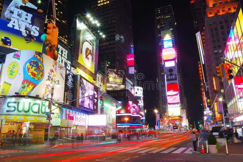 Times Square de New York City imagens de stock