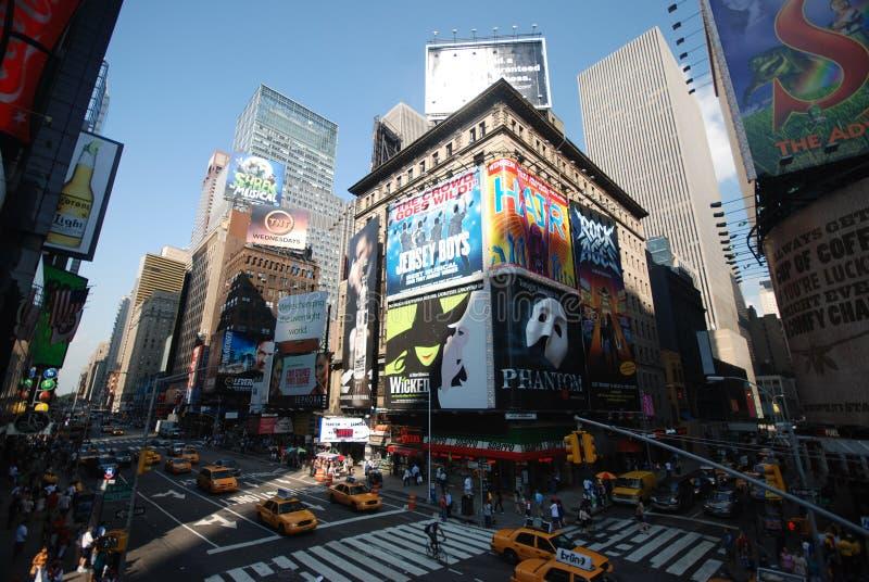 Times Square de New York City fotos de stock royalty free