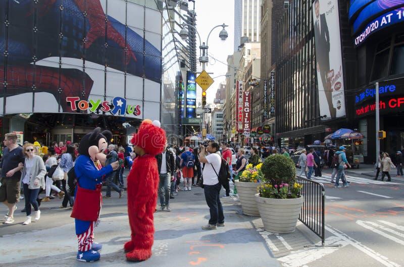Times Square de New York City foto de stock