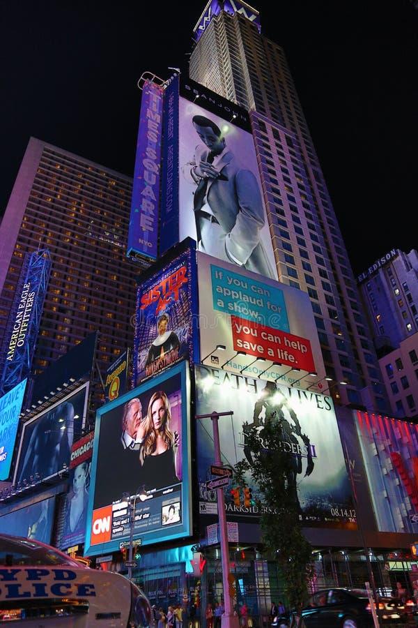 Times Square de New York City photo stock