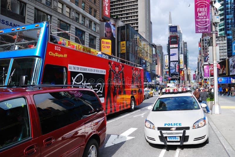 Times Square de New York City Manhattan imagens de stock