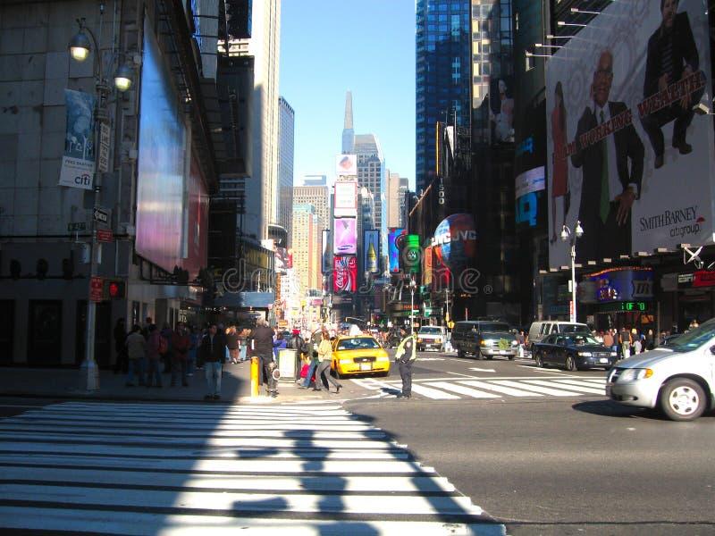 Times Square de New York City, Nueva York, los E.E.U.U. en Midtown Manhattan 1 fotografía de archivo