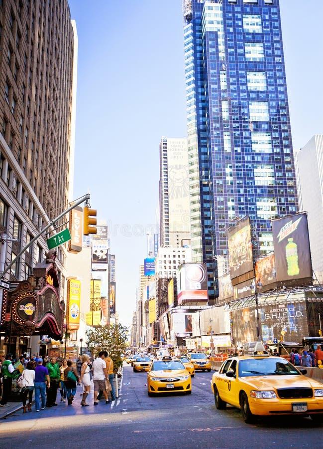 Times Square de NYC fotografía de archivo libre de regalías