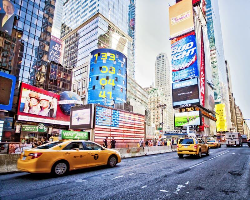 Times Square de NYC foto de archivo