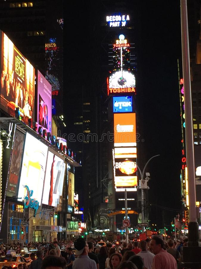 Times Square de NYE photos libres de droits