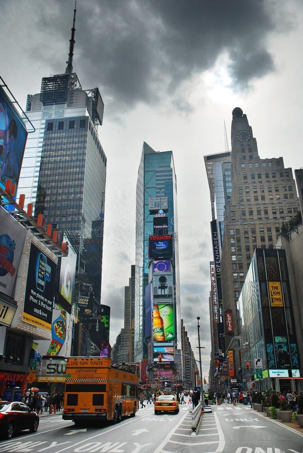 Times Square di New York City fotografie stock libere da diritti