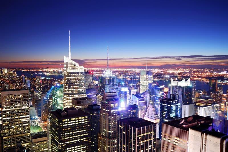 Times Square di New York City fotografia stock