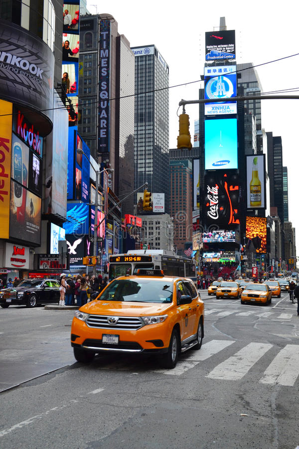 Times Square em New York City, NY EUA foto de stock