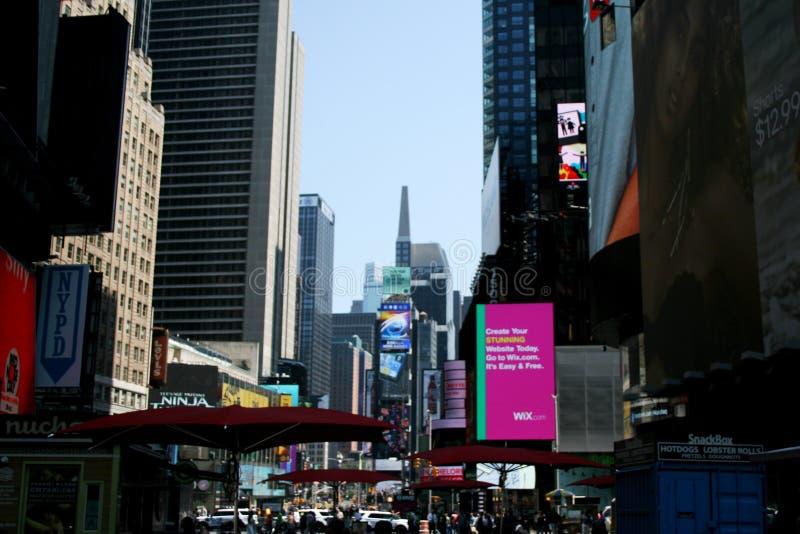 Times Square em New York fotografia de stock royalty free