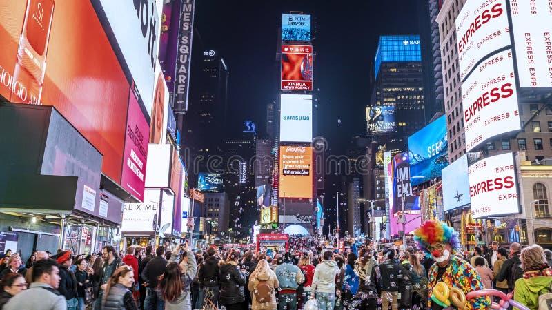 Times Square em NYC foto de stock royalty free