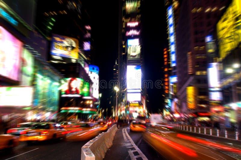 Times Square en la noche #3 imágenes de archivo libres de regalías