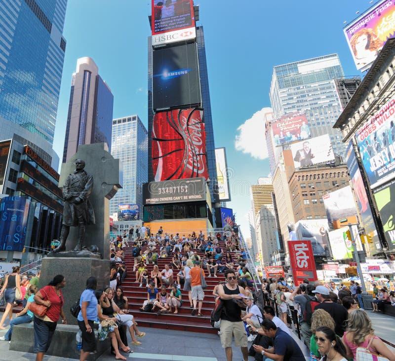 Times Square en Nueva York Cirty foto de archivo libre de regalías
