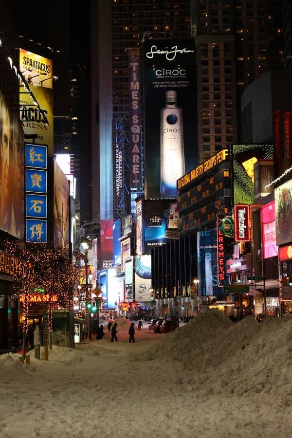 Times Square en NYC foto de archivo