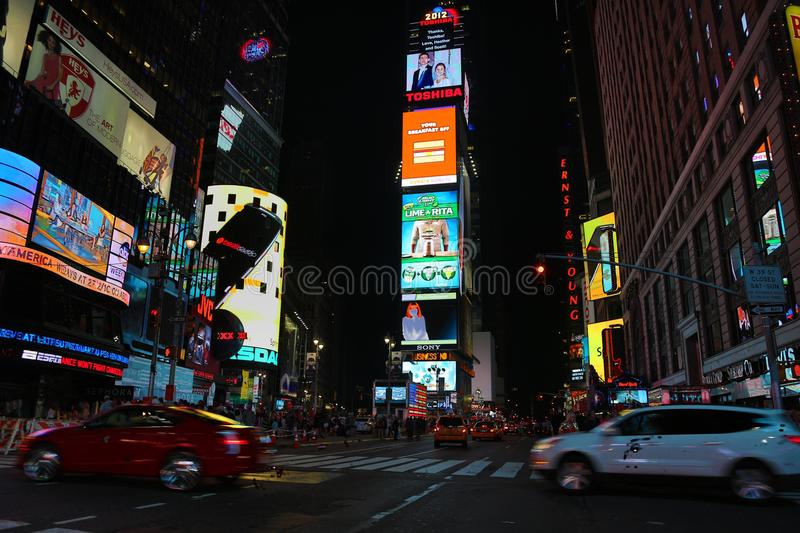 Times Square Manhattan stock photos
