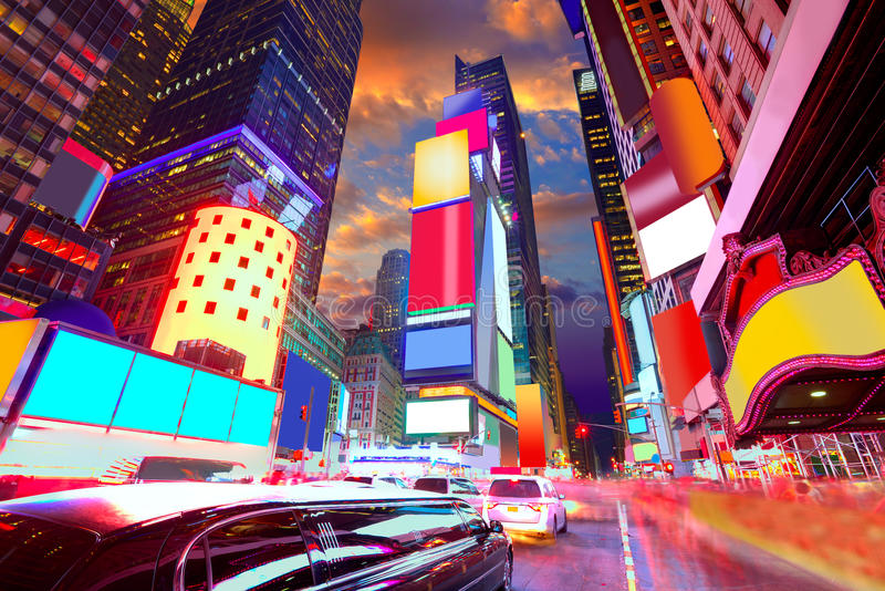 Download Times Square Manhattan New York Deleted Ads Stock Photo - Image of financial, signal: 49019246