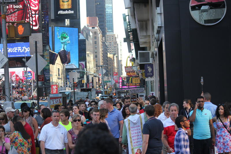 Times Square Manhattan New York. Times Square in New York, USA stock photography