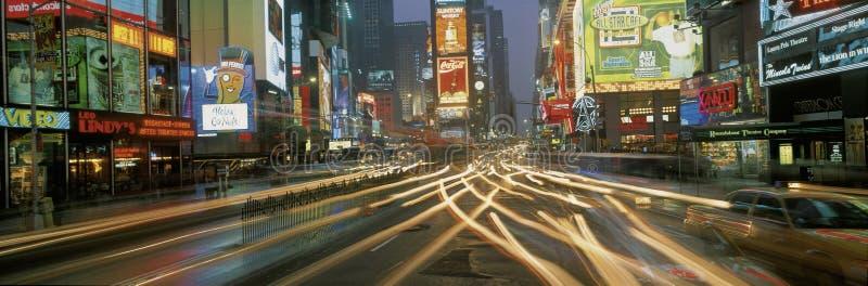 Times Square na noite imagem de stock royalty free
