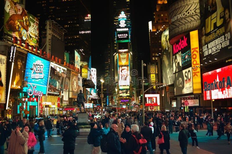 Times Square New York USA stock photo