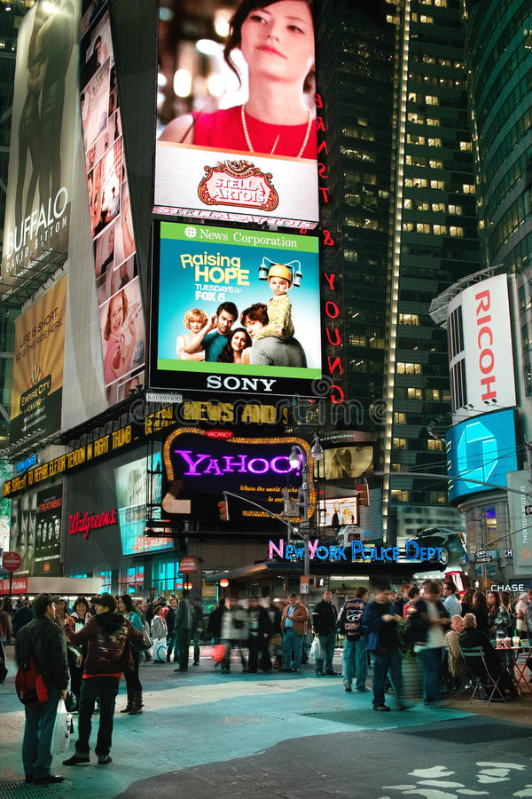 Download Times Square New York USA editorial image. Image of explosion - 17173120