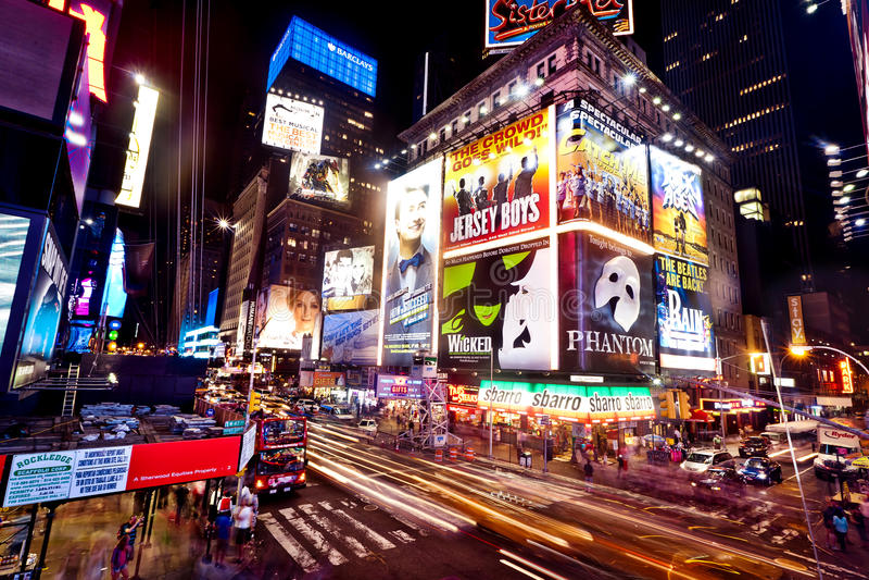 Times Square, New York photos libres de droits