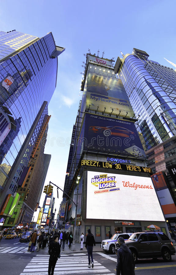 Times Square New York stock afbeelding