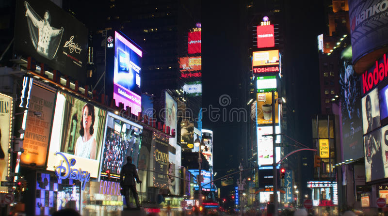 Times Square New York royaltyfria bilder