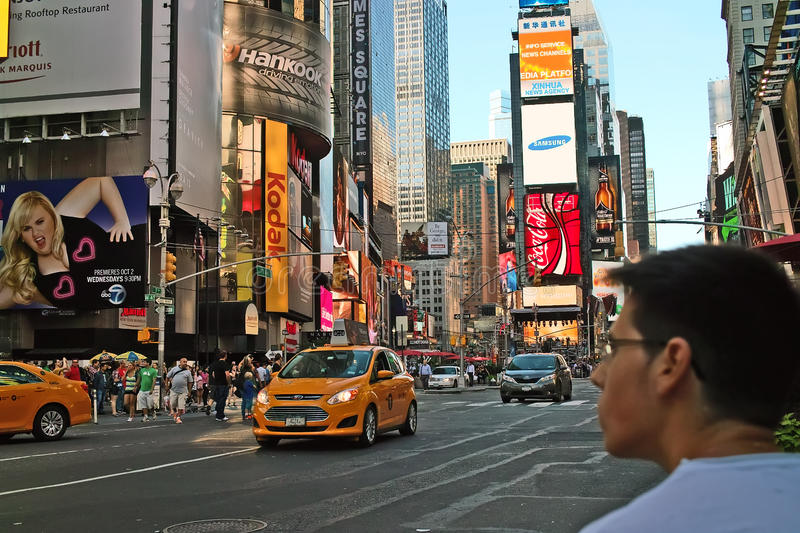 Times Square New York arkivfoto