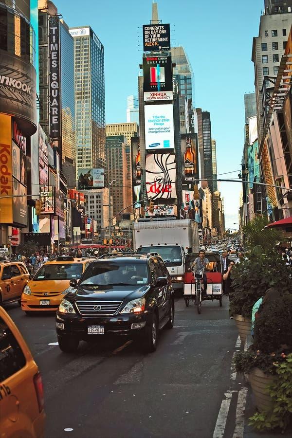 Times Square New York arkivfoton