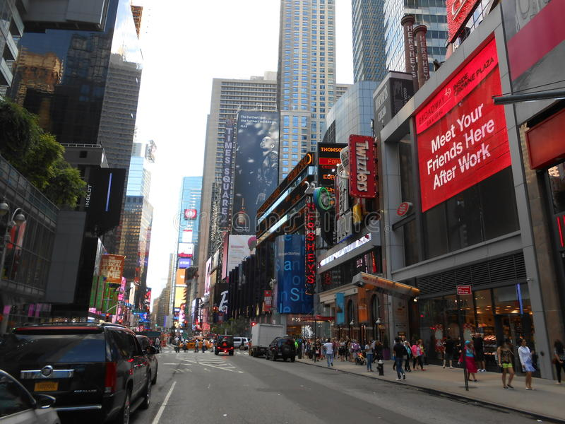 Times Square, New York stock foto's