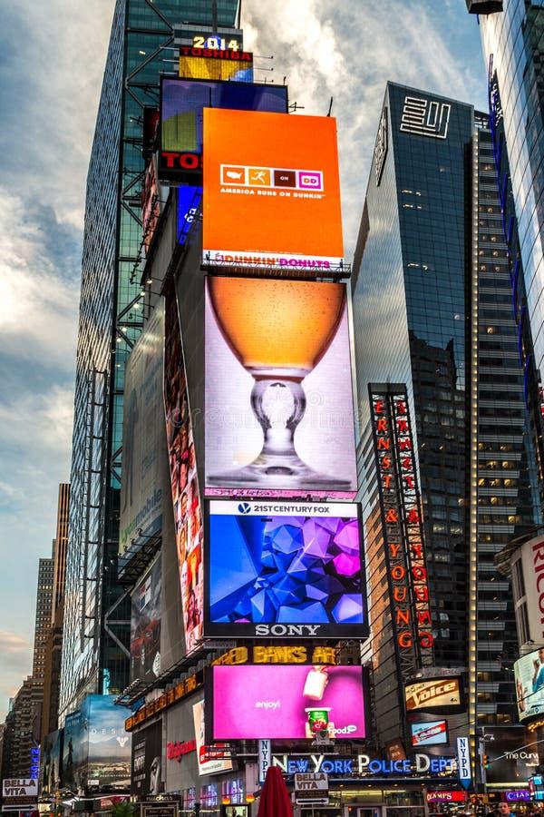 Times Square New York imagens de stock