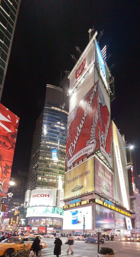 Times Square New York City images libres de droits